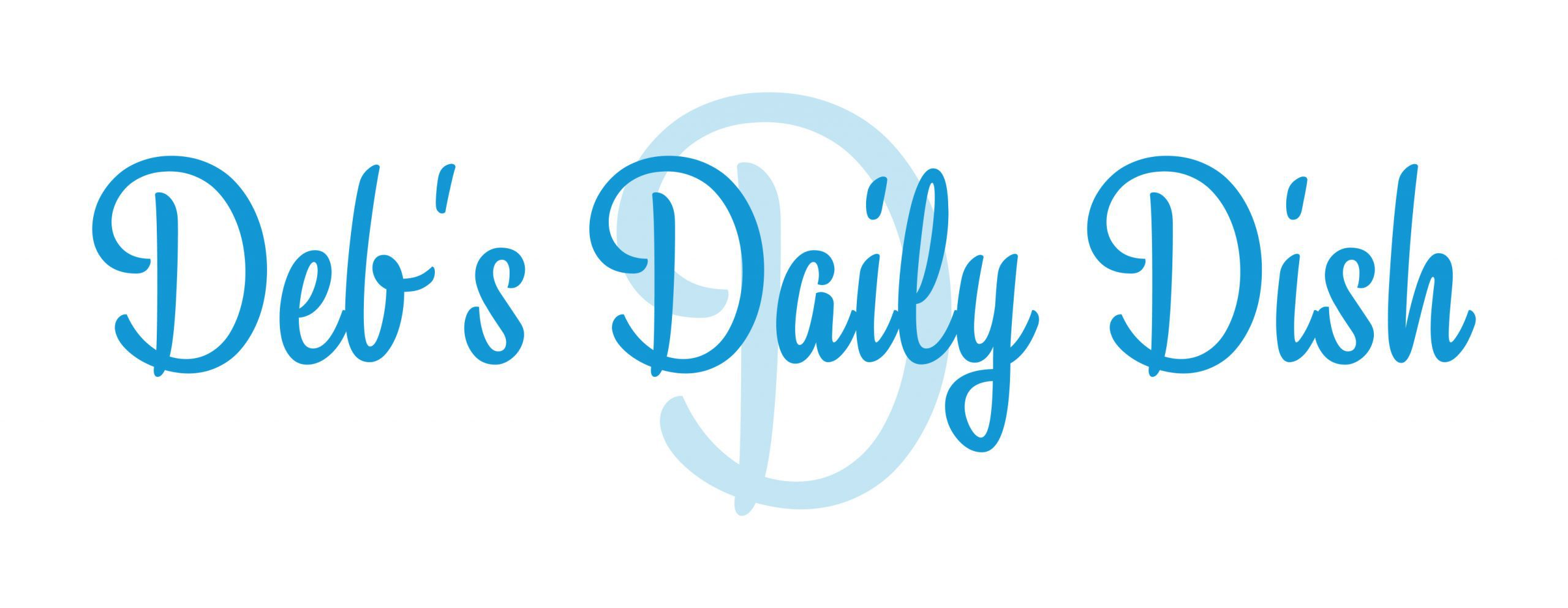 Deb's Daily Dish - Serving healthy, low carb and keto recipes logo