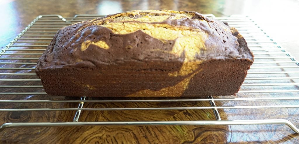 Chocolate Marble Quick Bread