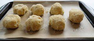 Baked potato balls