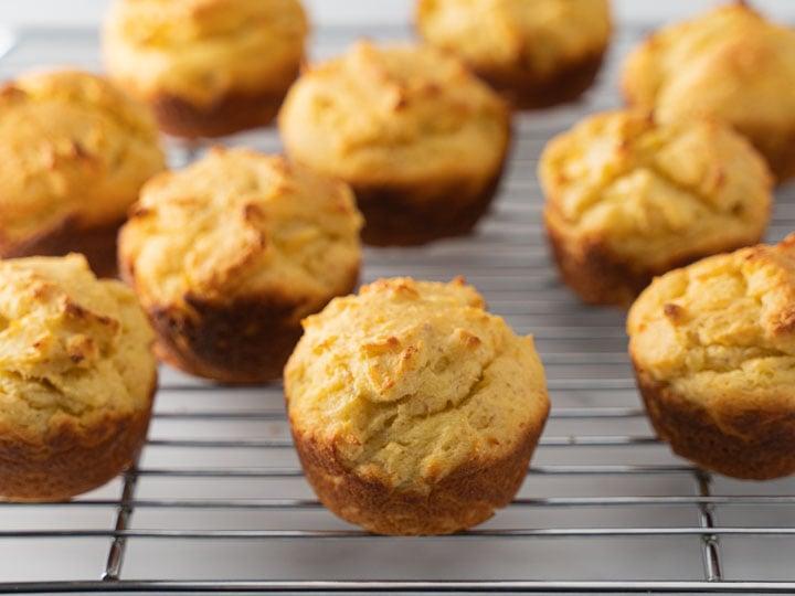 Keto Cornbread Muffins-pan-2