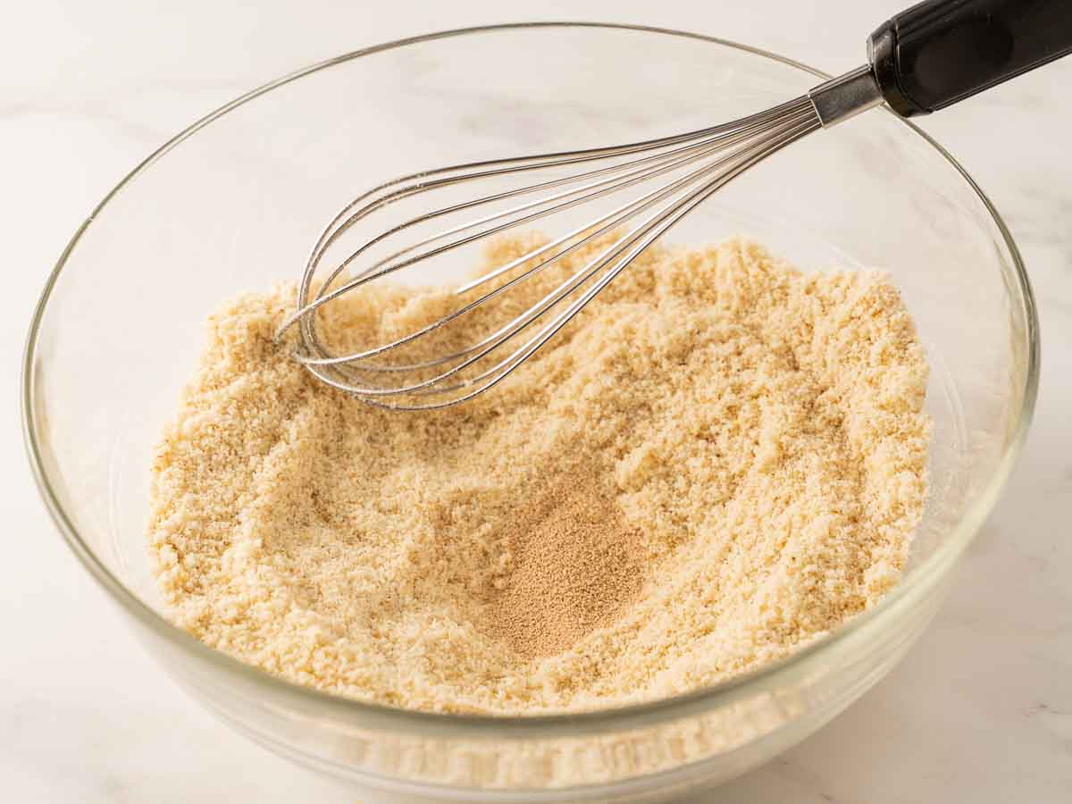 almond flour and yeast